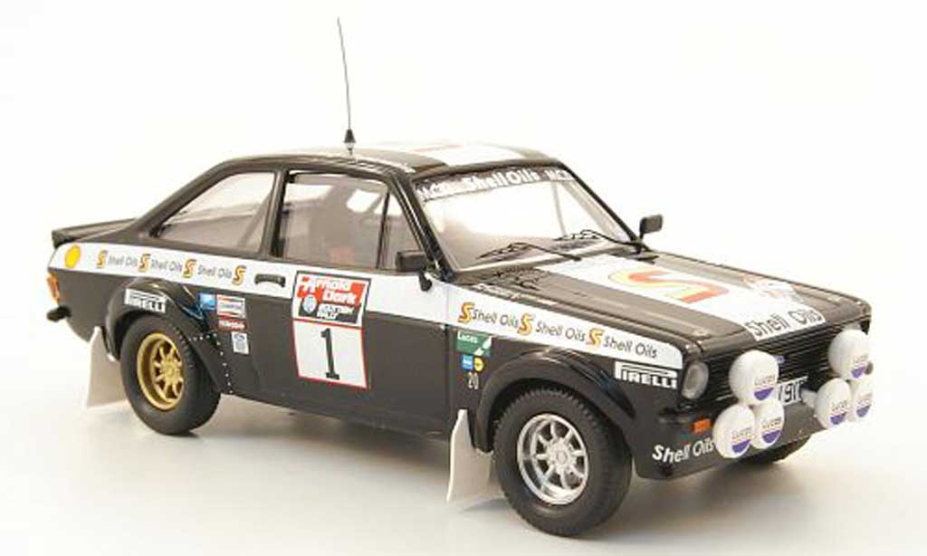 Ford Escort MK2 1/43 Trofeu No.1 S Oils Rally Schottland 1982 miniature