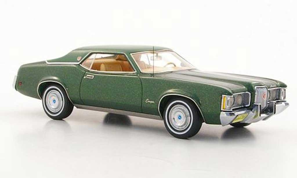 Mercury Cougar 1/43 Neo MkII verte/verte 1971 miniature