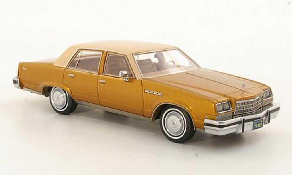 Buick Electra 1/43 Neo Sedan gold/beige 1977 miniature