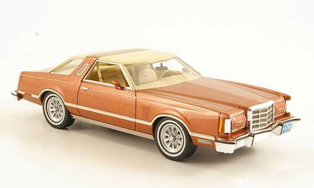 Ford Thunderbird 1979 1/43 Neo kupfer/beige miniature
