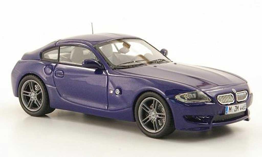Bmw Z4 E89 1/43 Neo M Coupe bleu 2009 miniature