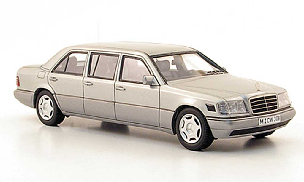 Mercedes 250 1/43 Neo E Die(V124) grise W124-Langversion lim. Auf. 300 1990 miniature