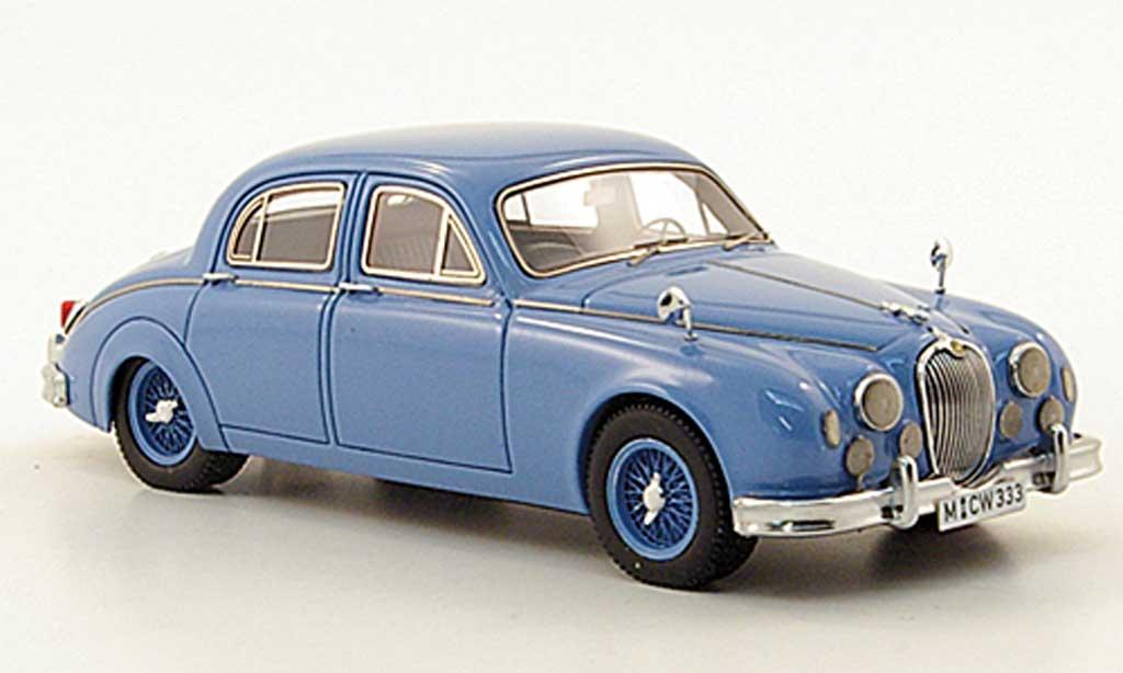 Jaguar MK 1 1/43 Neo 3.4 bleu limited edition 955