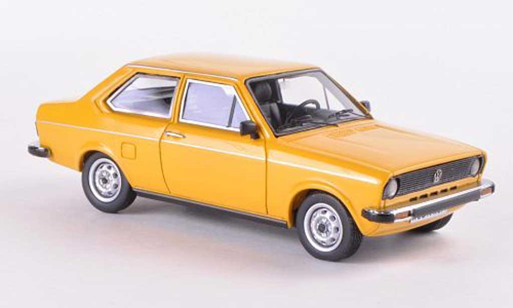 Volkswagen Derby 1/43 Neo I jaune limitierte Auflage 300 Stuck 1979 miniature