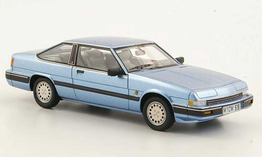 Mazda 929 1/43 Neo Coupe grise bleu limited edition 1985 miniature