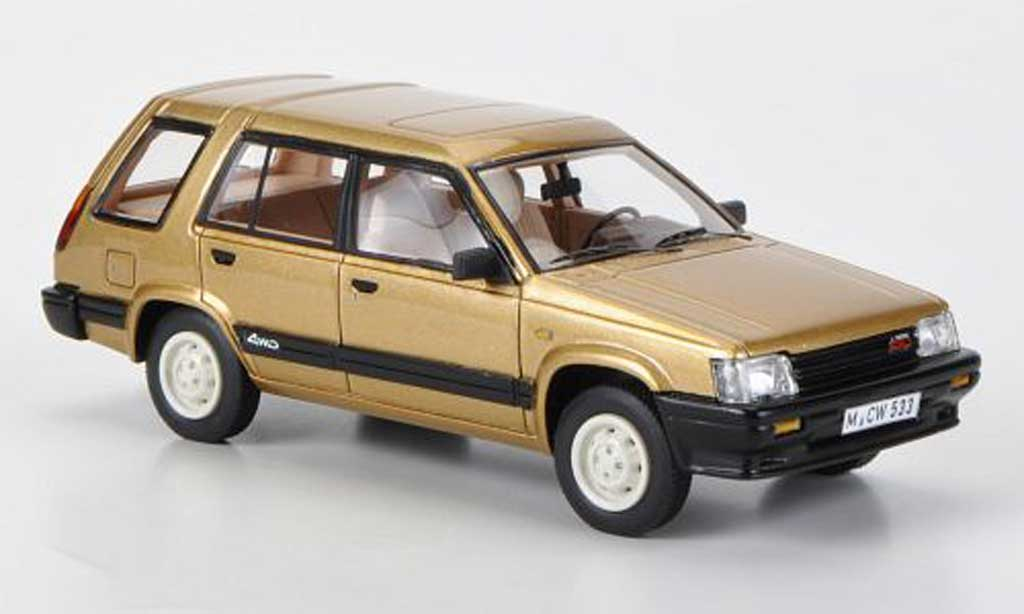 Toyota Tercel 1/43 Neo 4WD gold limited edition 1983 miniature
