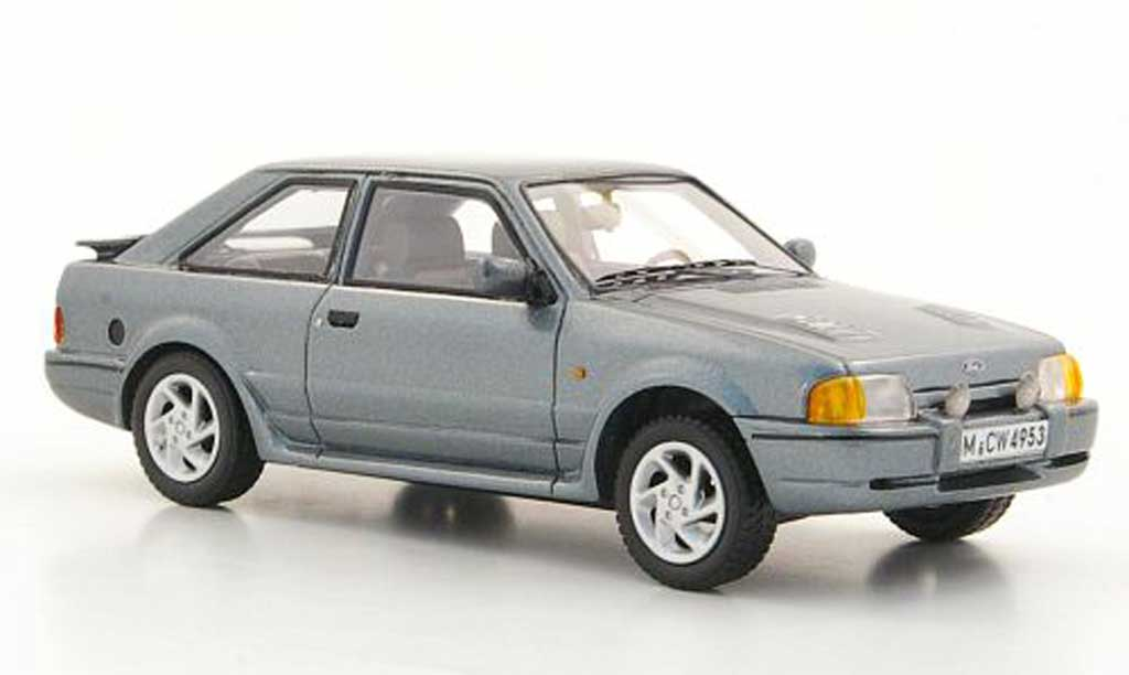 Ford Escort MK4 1/43 Neo MkIV  Turbo grise limited edition 1988 miniature