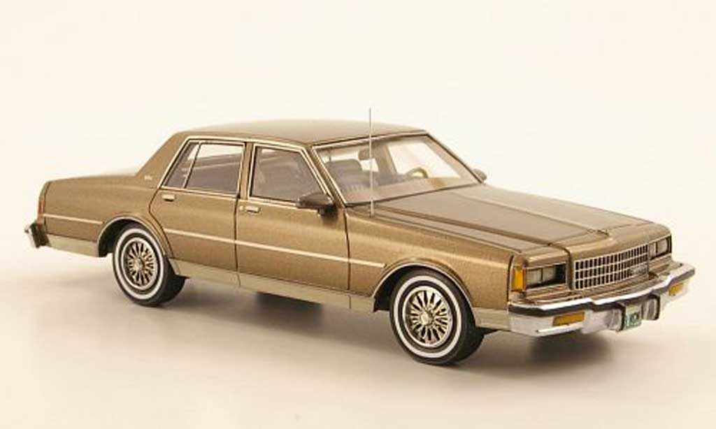 Chevrolet Caprice Classic 1/43 American Excellence marron limited edition 1985 miniature