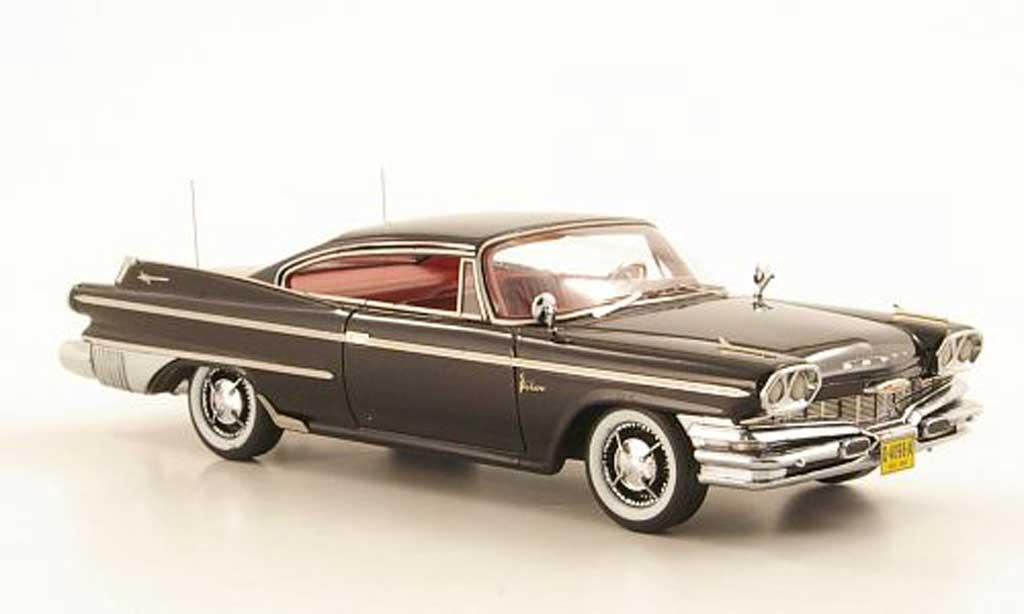 Dodge Polara 1/43 American Excellence 2-Door Hardtop Coupe noire limitee edition 500 piece 1960 miniature