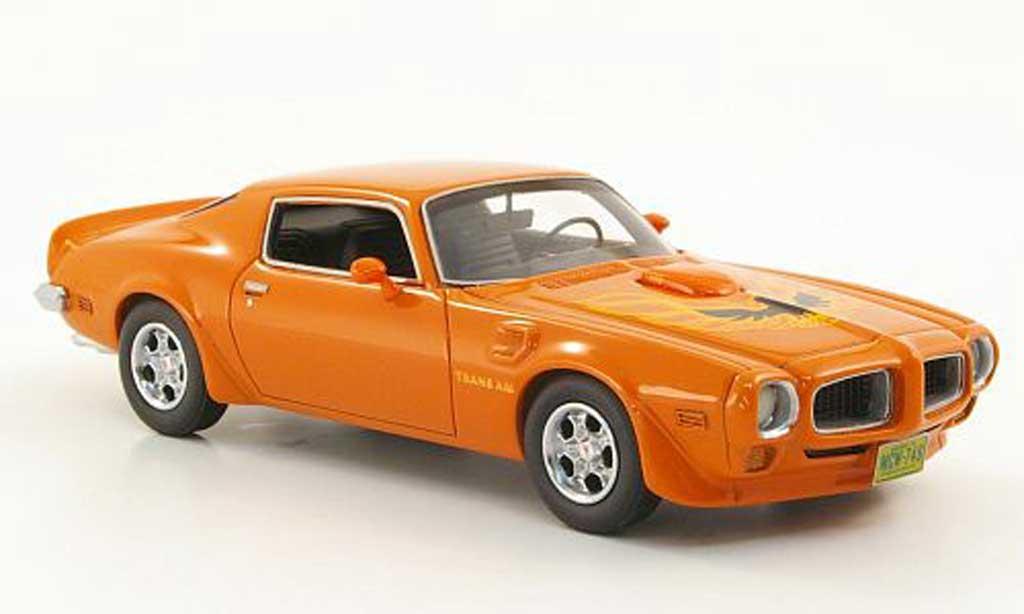 pontiac trans am firebird orange limited edition 1972 american excellence modellauto 1 43. Black Bedroom Furniture Sets. Home Design Ideas