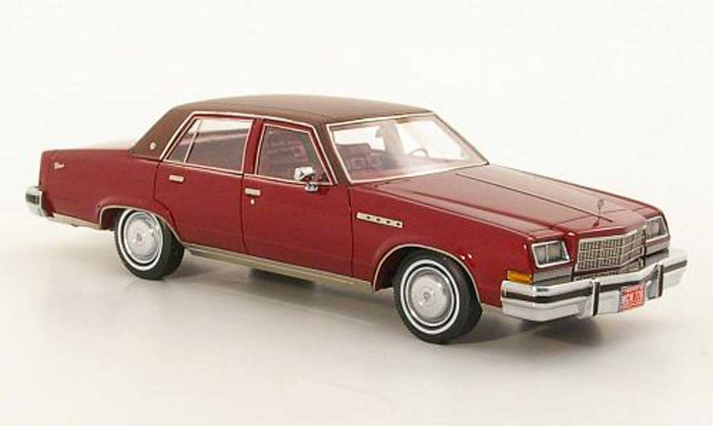 Buick Electra 1/43 American Excellence Sedan rouge/marron limited edition 1977 miniature