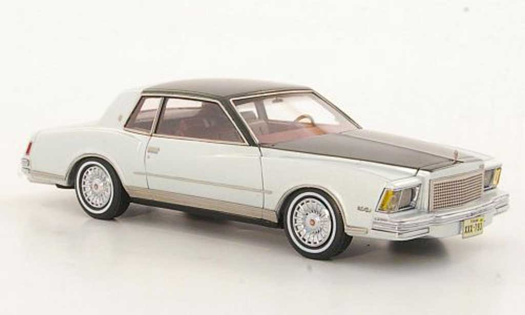 Chevrolet Monte Carlo 1/43 American Excellence grise /grise limited edition 1978 miniature