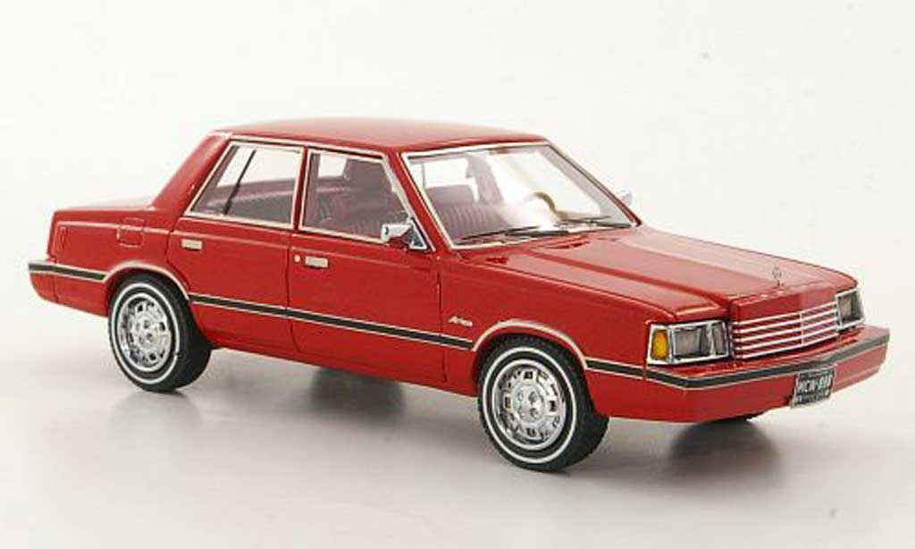 Dodge Aries 1/43 American Excellence (K-Car) rouge limited edition 1983 miniature
