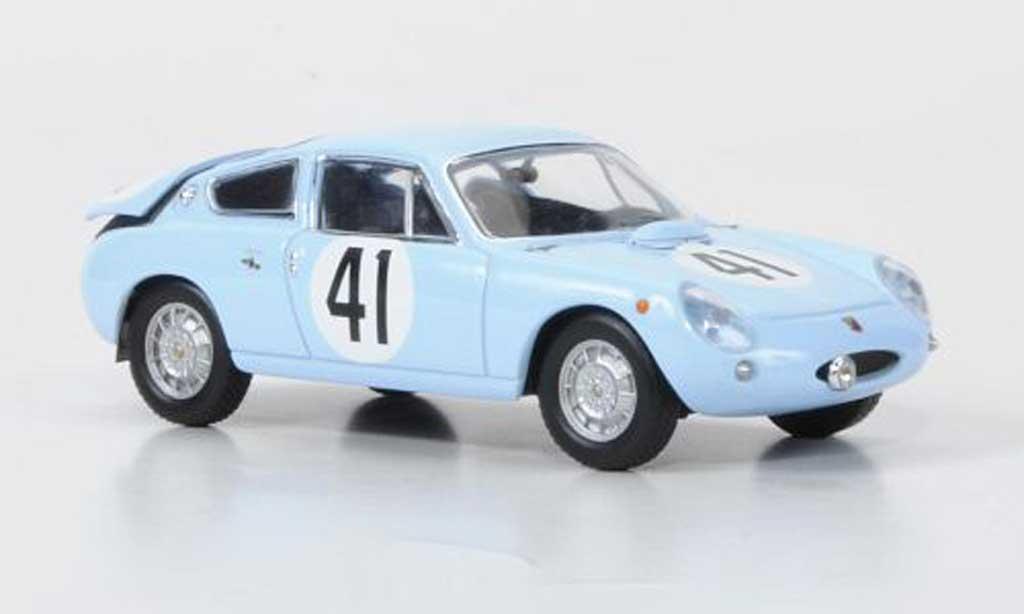 Simca 1300 1/43 IXO Abarth No.4 Lageneste/Rolland 24h Le Mans 1962 miniature