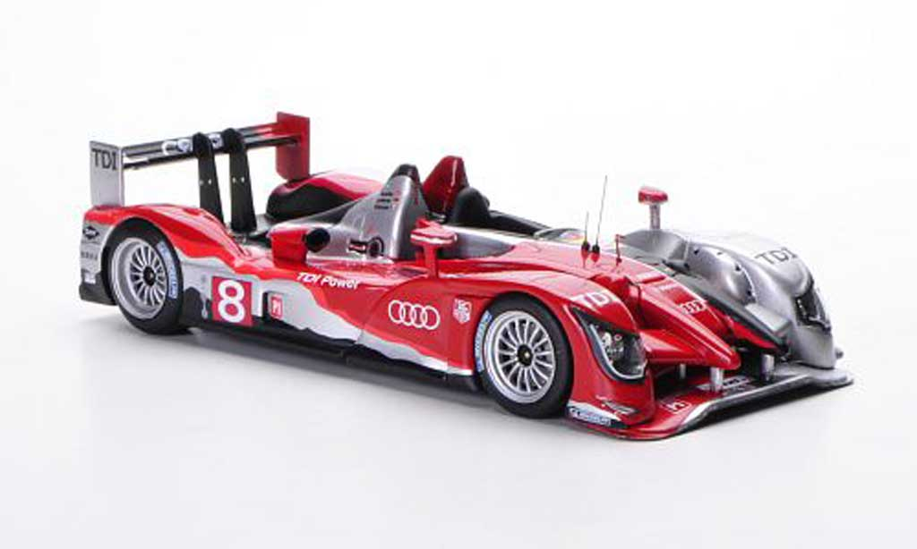 Audi R15 2010 1/43 IXO R15 TDI No.8 A.Lotterer / M.F?ssler / B.Treluyer 24h Le Mans 2010 miniature
