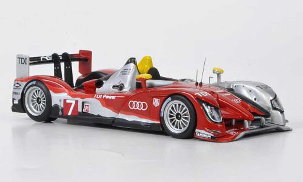 Audi R15 2010 1/43 IXO R15 TDI NO.7Sport 24h Le Mans 2010 miniature