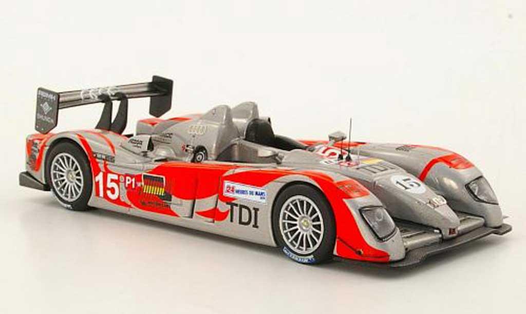 Audi R10 2010 1/43 IXO R10 TDI No.15 C.Bakkerud / C.Albers / O.Jarvis 24h Le Mans miniature