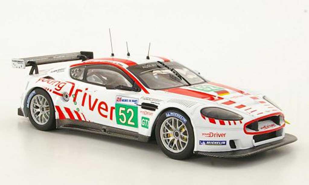 Aston Martin DBR9 1/43 IXO No.52 C.Nygaard / T.Enge / P.Kox 24h Le Mans 2010 diecast