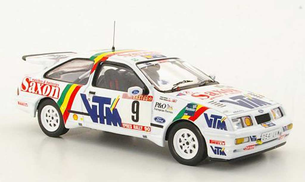 Ford Sierra Cosworth RS 1/43 IXO No.9 C.McRae / D.Ringer Rally Ypern 1990 miniature