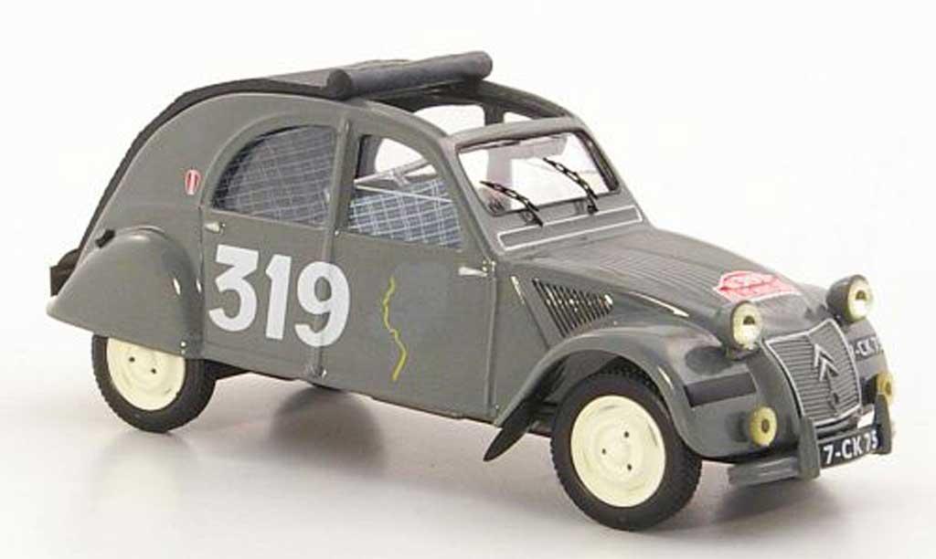 Citroen 2CV 1/43 IXO No.319 M.Bernier / J.Duvey Rally Monte Carlo 1954 miniature