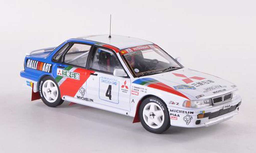 Mitsubishi Galant VR4 1/43 IXO No.4 Ralliart Rally Schweden  1991 Eriksson/Parmander miniature