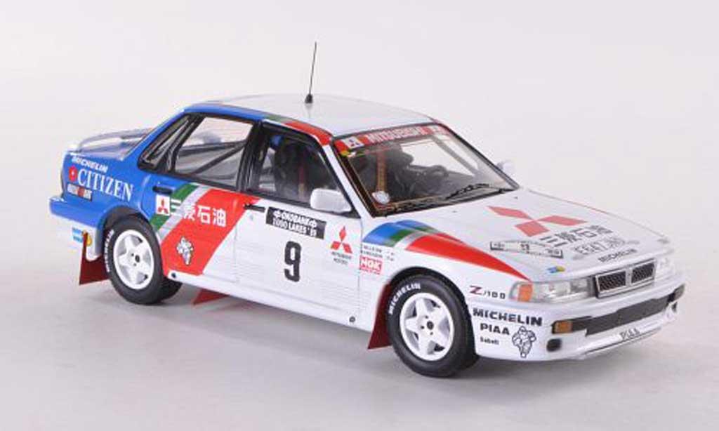 Mitsubishi Galant VR4 1/43 IXO No.9 Ralliart Rally Finnland  1991 Ericsson/Billstam miniature