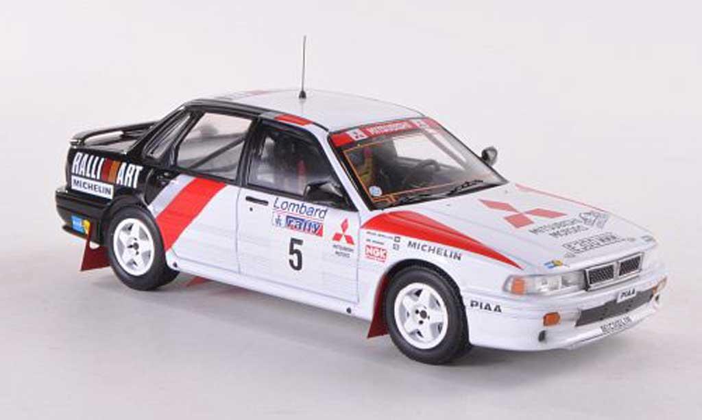 Mitsubishi Galant VR4 1/43 IXO No.5 Ralliart RAC Rally  1988 Vatanen/Belglund miniature