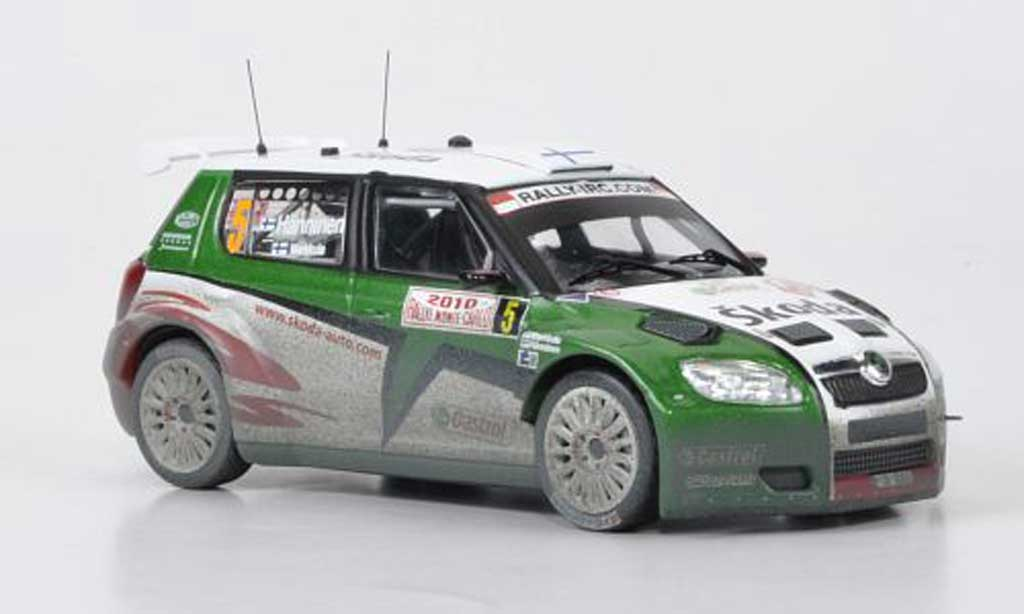 Skoda Fabia S2000 1/43 IXO No.5 Hanninen/Markkula Rally Monte Carlo 2010 miniature