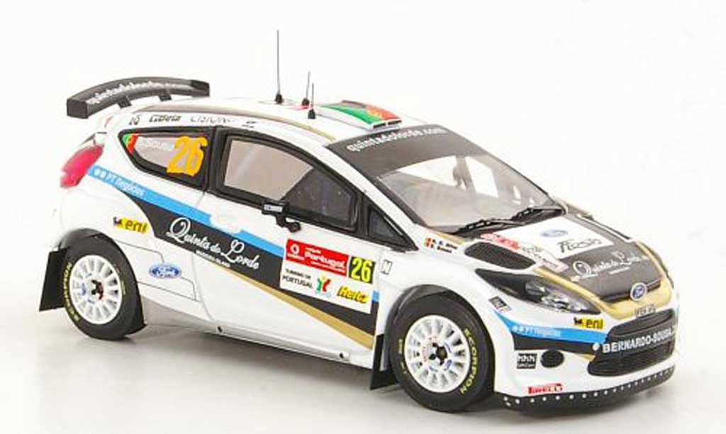 Ford Fiesta S2000 1/43 IXO No.26 B.Sousa / N.R.Da Silva S-WRC Rally Portugal 2010 miniature