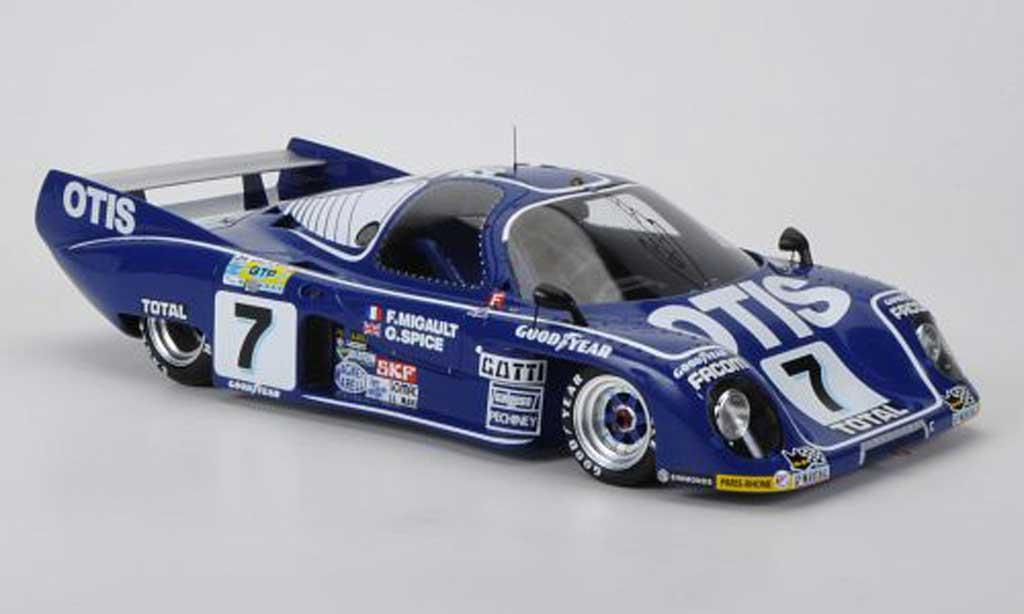 Rondeau M379C 1/18 Spark No.7 Otis F. Migault / G.Spice 24h Le Mans 1981 diecast model cars