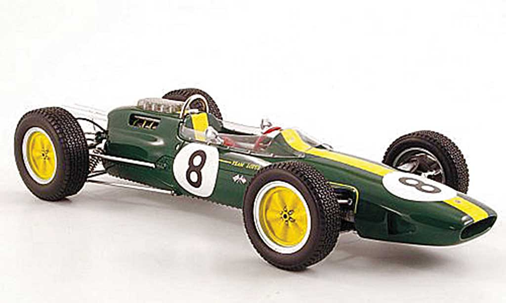 Lotus 25 1/18 Spark No.8 Jim Clark GP Italien 1963 diecast model cars