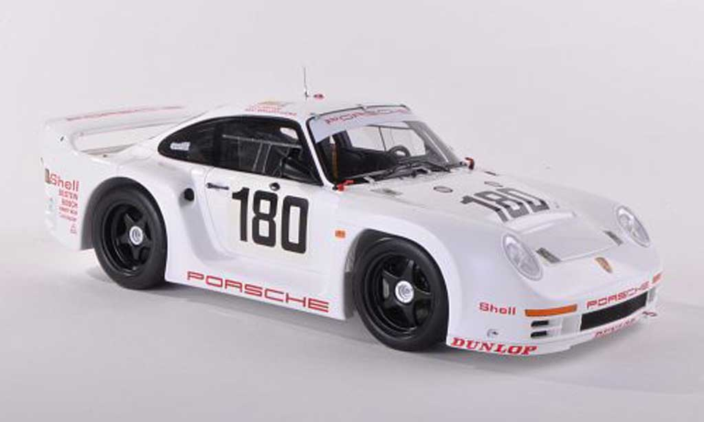 Porsche 961 1/43 Spark No.180 24h Le Mans 1986 R.Metge/C.Ballot-Lena miniature