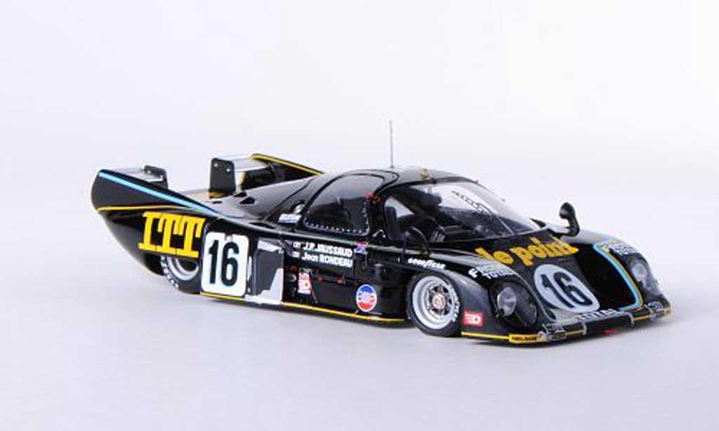 Rondeau M379B 1/43 Spark No.16 le point/ITT J.Rondeau/J-P.Jaussaud 24h Le Mans 1980 miniature
