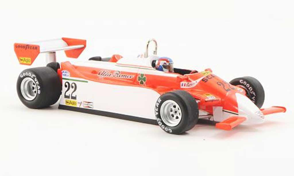 Alfa Romeo 179 1980 1/43 Spark 1980 No.22 Marlboro P.Depailler GP Monaco 1980 miniature