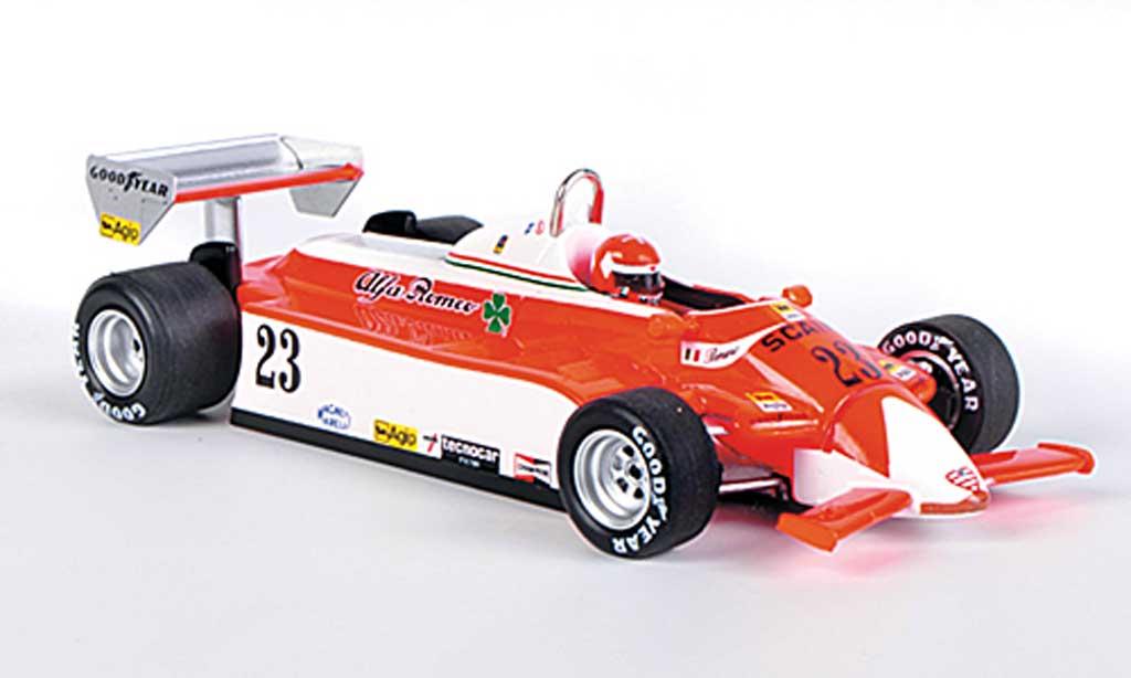 Alfa Romeo 179 1980 1/43 Spark 1980 No.23 Marlboro B.Giacomelli GP Amerika 1980 miniature
