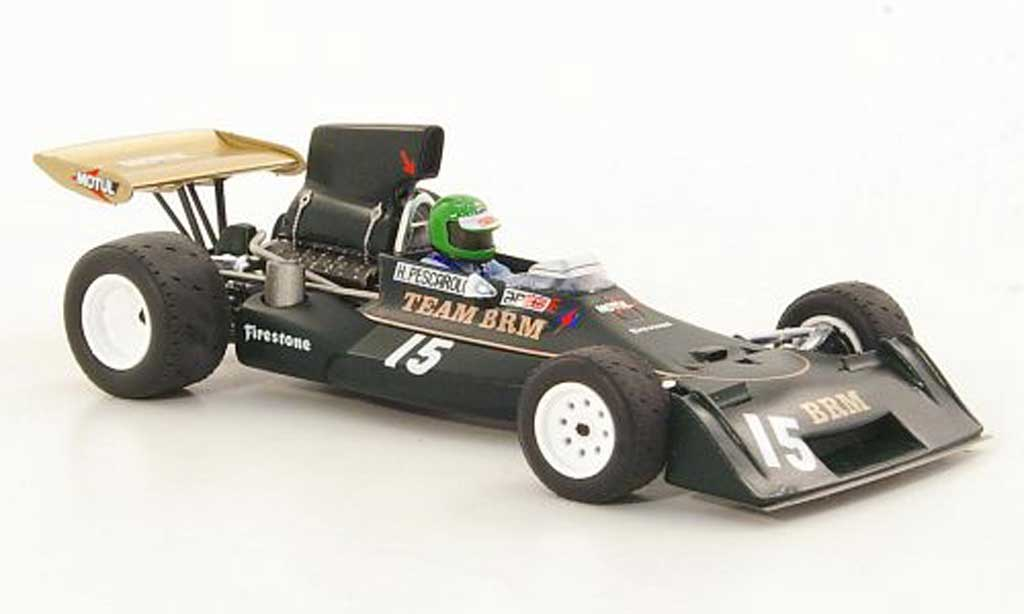 Brm P160 1/43 Spark E No.15 H.Pescarolo GP Argentinien 1974 miniature