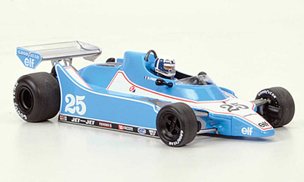 Ligier JS11 1/43 Spark 15 No.25 Gitanes D.Pironi GP Belgien 1980 miniature