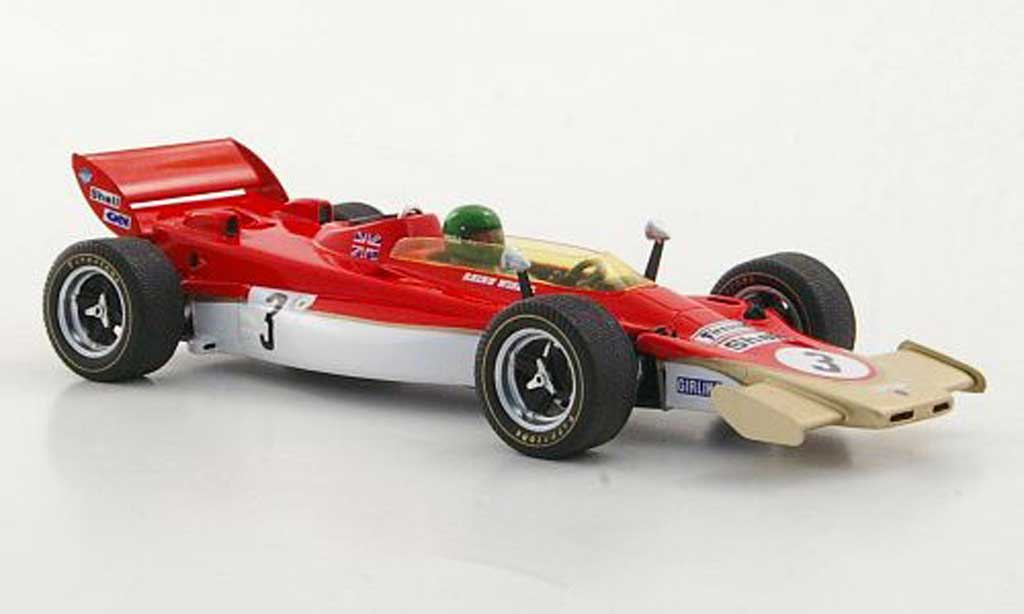 Lotus F1 1971 1/43 Spark 56B No.3 R.Wisell GP Grossbritannien 1971 miniature