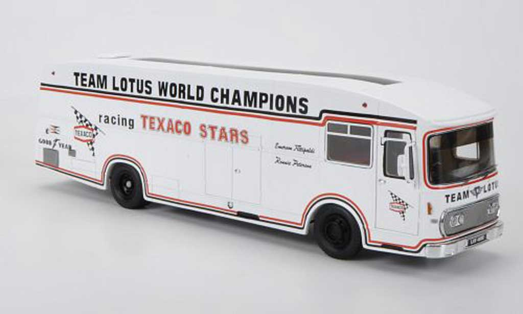 Lotus Transporter 1/43 Spark F2 Team - Texaco F2 Saison 1973