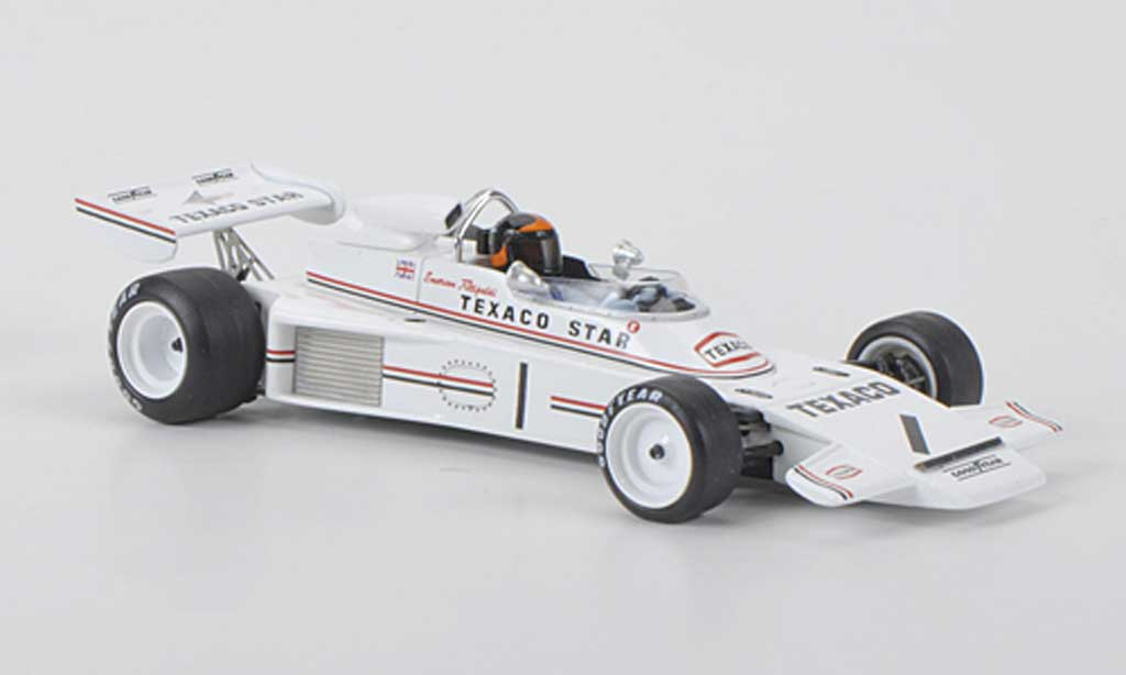 Lotus F1 1973 1/43 Spark 74 No.1 Texaco E.Fittipaldi F2 Rouen miniature