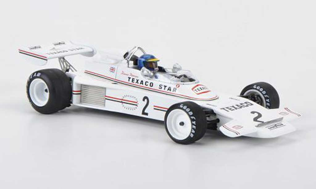 Lotus F1 1973 1/43 Spark 74 No.2 R.Peterson Rouen F2 miniature
