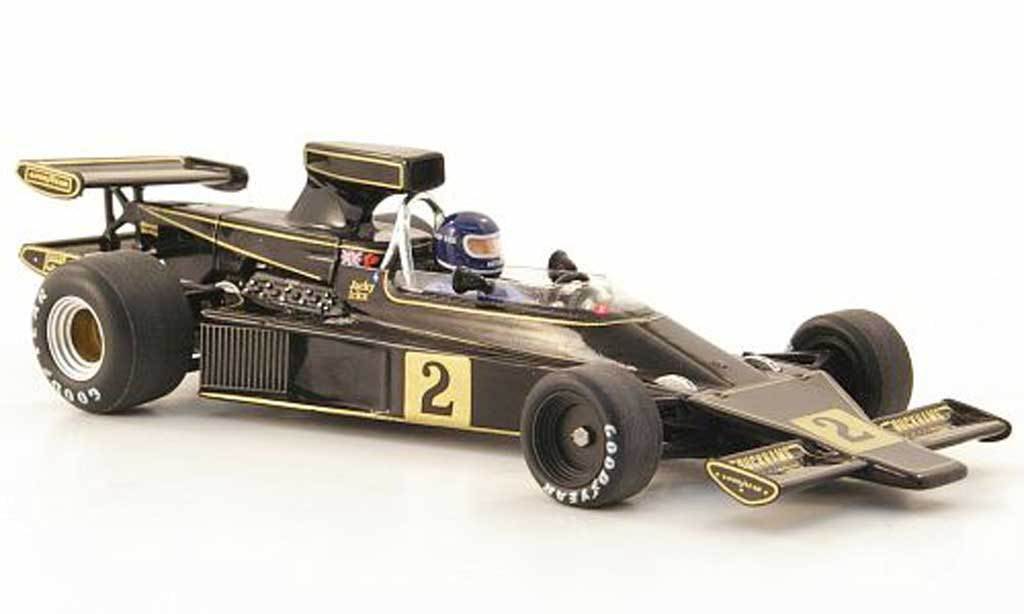 Lotus F1 1974 1/43 Spark 76 No.2 JPS J.Ickx GP Sudafrika 1974 miniature