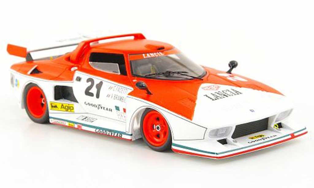 Lancia Stratos Rallye 1/43 Spark Rallye Turbo Gr.5 No.21 Marlboro 6h Vallelunga 1976 miniature