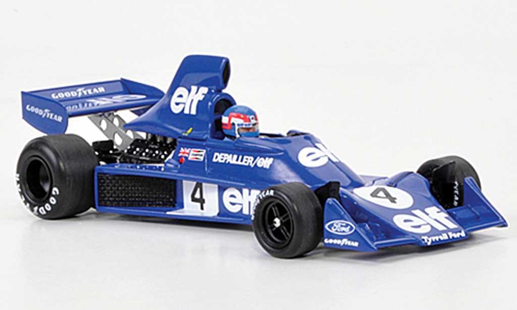 Tyrrell 007 1/43 Spark No.4 Elf P.Depailler GP Belgien 1975 miniature