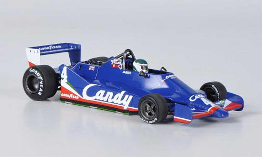 Tyrrell 009 1/43 Spark 009 No.4 Candy J-P.Jarier GP Grossbritannien 1979 modellautos