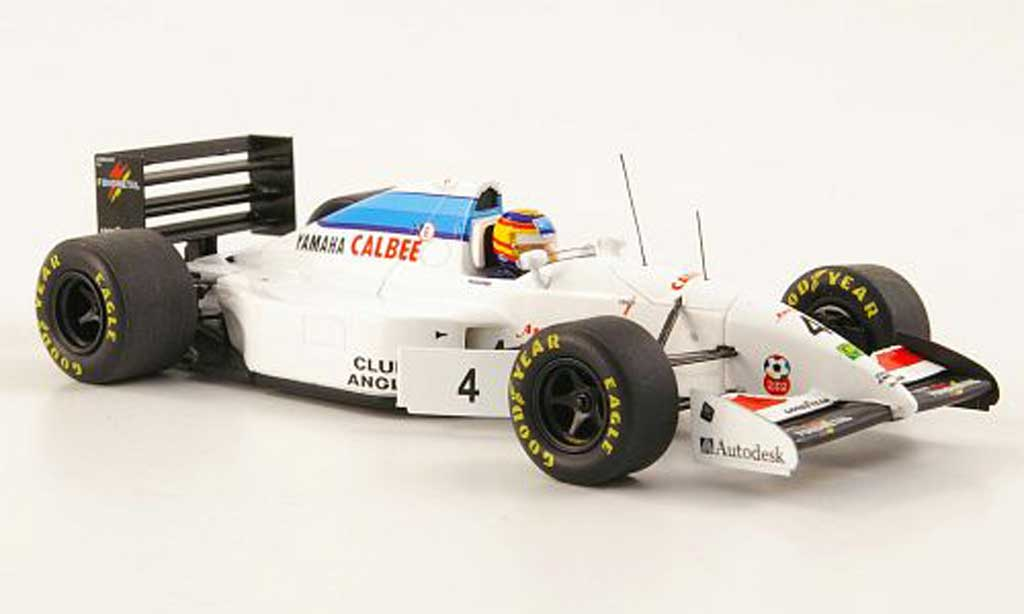 Tyrrell 022 1/43 Spark 022 No.4 Calbee/Mild Seven GP Spanien 1994 miniature