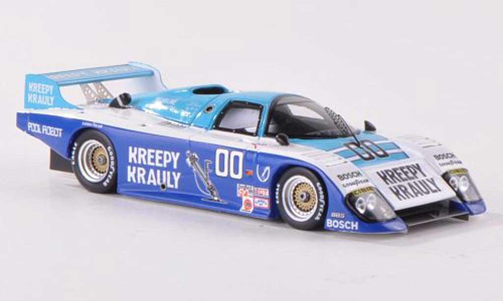 March 83 G 1/43 Spark No.00 Kreepy Krauly 24h Daytona  1984 S.van der Merwe/G.Duxbury/T.Martin miniature