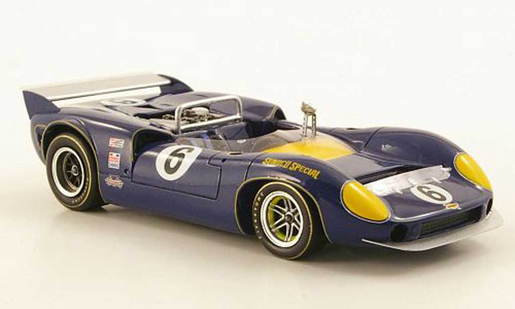 Lola T70 1967 1/43 Spark MKII No.6 M.Donohue USSRC miniature