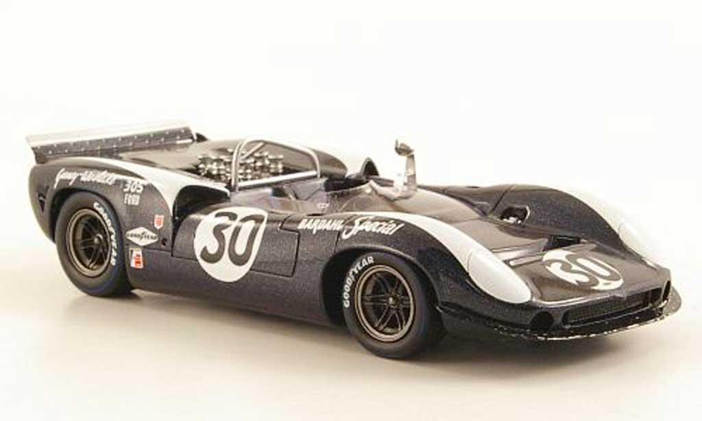 Lola T70 1966 1/43 Spark MKII No.30 Gurney-Weslake Bridgehampton miniature