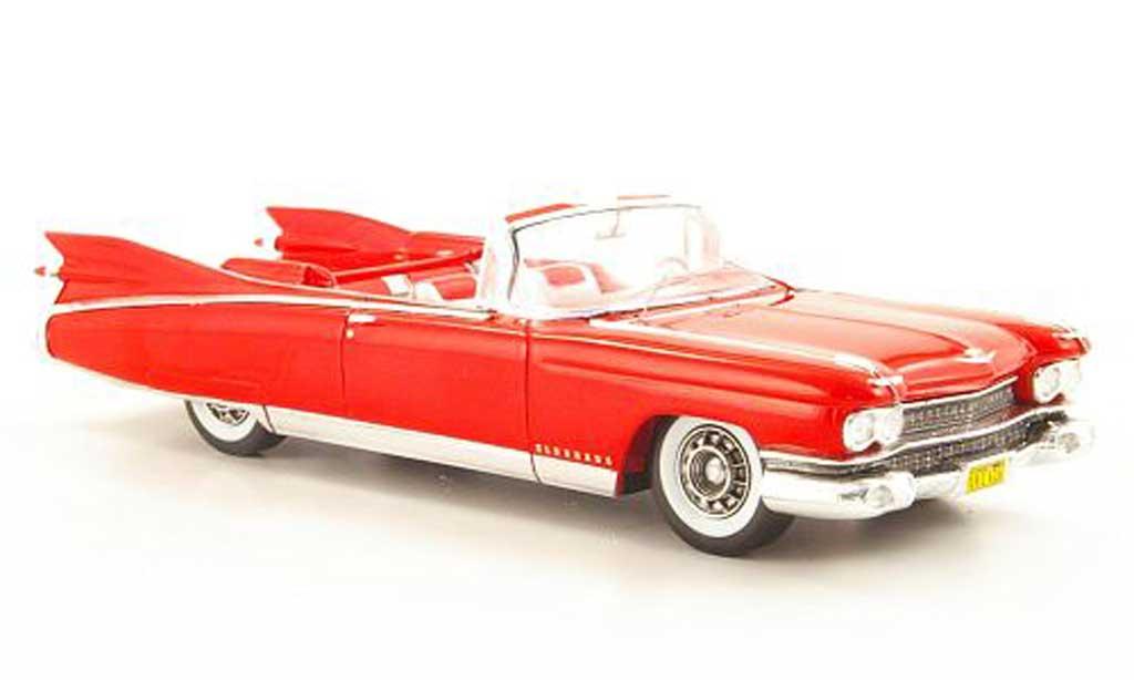 Cadillac Eldorado 1/43 Spark Biarritz red 1959 diecast model cars